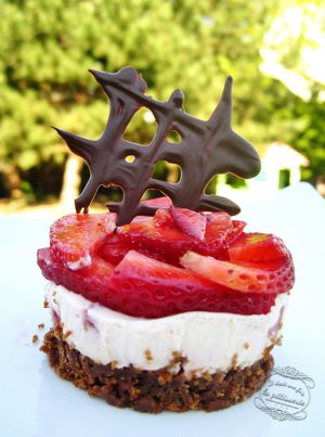Recette Entremets fraise et spéculoos