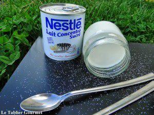 Recette Yaourts natures sucrés maisons (et bio) au lait concentré