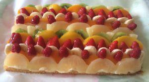Recette Tarte aux fruits (ou tarte folle)
