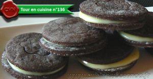 Recette Biscuits façon «Oréo»