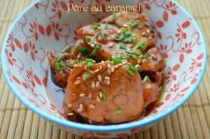 Recette Filet mignon de porc au caramel