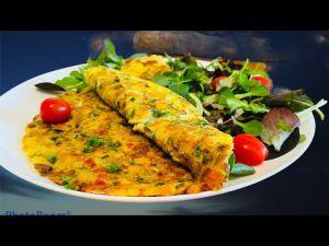 Recette Omelette Aux Légumes