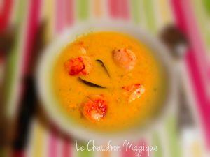 Recette Monsieur Cuisine......ou pas! Velouté de moules et coquilles st Jacques au Safran