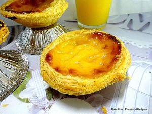 Recette Pastéis de nata (petits flans portugais)