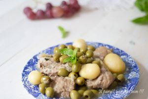 Recette Mouton olives et basilic