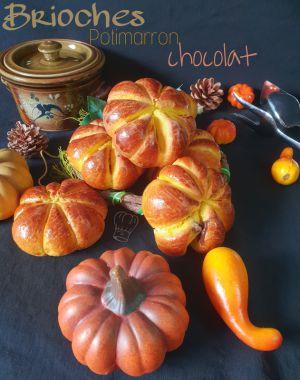 Recette Brioche au Potimarron et Chocolat