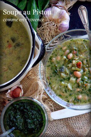 Recette Soupe au Pistou bien de chez nous