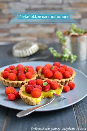 Recette Tartelettes aux arbouses et crème au citron