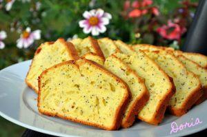 Recette Cake à l'orange, pavot et poire