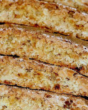 Recette Pain biscuits mandelbrot cuisinés à la farine azyme et aux amandes (cuisine Juive, Pessah)
