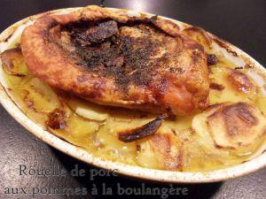 Recette Rouelle de porc aux pommes a la boulangere