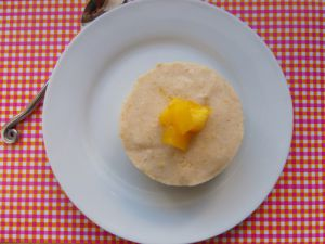 Recette Entremets (super léger) à la mangue