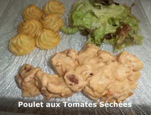 Recette Tour en Cuisine #379 - Poulet aux Tomates Séchées