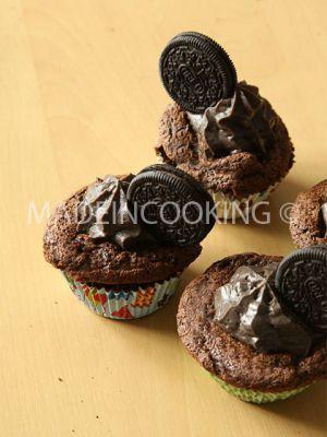 Recette Cupcakes Oreo- Cupcakes tout choco Oreo
