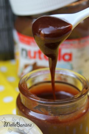 Recette Caramel au nutella