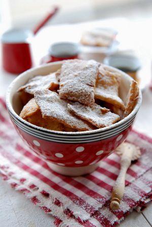 Recette Petits beignets ou bugnes de mardi gras