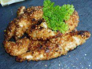 Recette Tour en cuisine 189: Poulet croustillant citron et miel