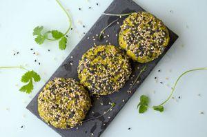 Recette Burgers végétaliens de haricots noirs et patate douce