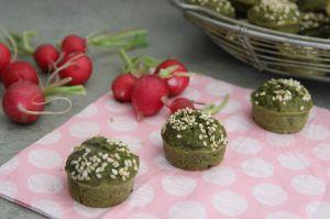 Recette Muffins aux fanes de radis
