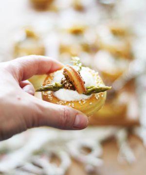 Recette Feuilletés aux asperges et yaourt sans gluten