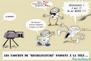 Recette Dessin du Mois : Mes #Yaourts Maison dans #LaQuotidienne, c'est Demain
