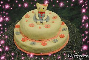 Recette Gâteau Hello Kitty en pâte à sucre