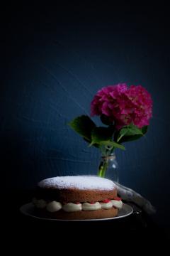 Recette Victoria Sponge Cake à l'épeautre
