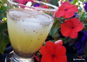 Recette Chia Refresco / Limonade au chia (Bolivie)