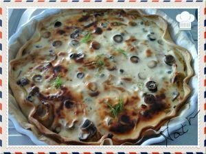 Recette Tarte au fenouils