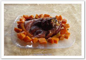 Recette Rouelle de porc au miel