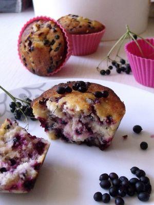 Recette Muffins aux baies de sureau