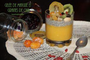 Recette Gelée de mangue et de graines de chia