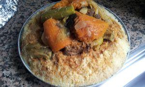 Recette Couscous mouton et légumes
