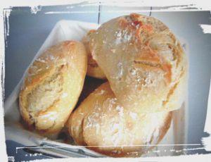 Recette Petit pain blanc