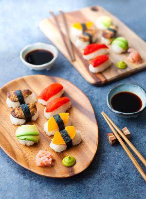 Recette Des sushis vegan !