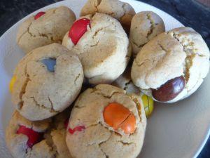 Recette Cookies aux m&m's (vegan & sans gluten)
