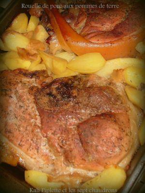 Recette Rouelle de porc aux pommes de terre