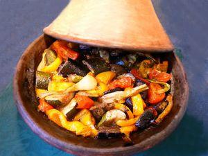 Recette Tajine de légumes