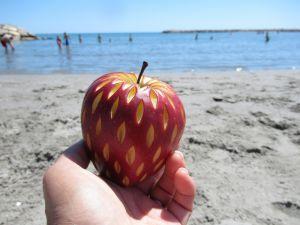 Recette Pomme à la plage #4