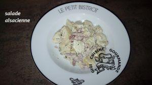 Recette Salade alsacienne (cookéo)