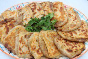Recette Msemen bechahma- à la graisse de mouton