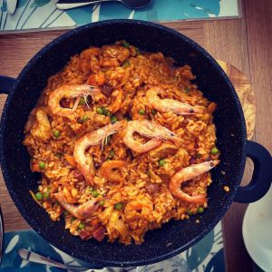 Recette Paella Chorizo Poulet Crevettes