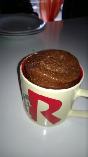 Recette Mugcake au Nutella