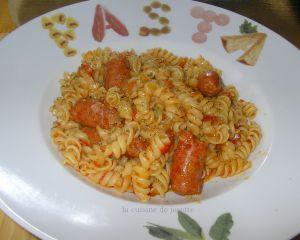 Recette One pot pasta à la saucisse chistorra