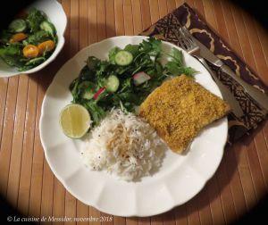 Recette Filets de truite croustillants à la thaïe +