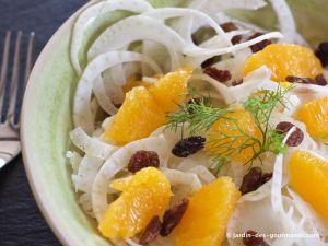 Recette Salade Fenouils et Oranges