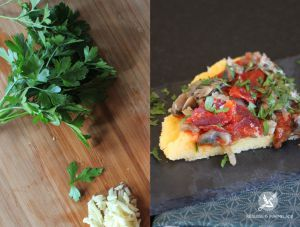 Recette Pizza Polenta