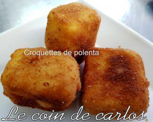 Recette Croquettes de polenta