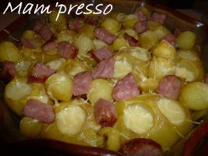 Recette Pommes de terre à la comtoise