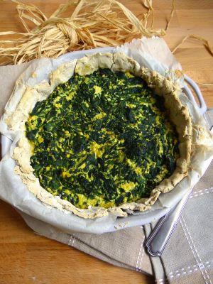 Recette Quiche vegan aux blettes (sans gluten)